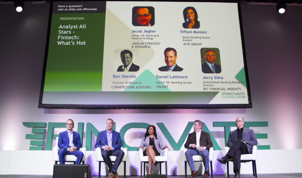 Finovate panel of analysts Spring 2018