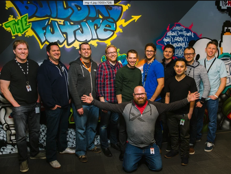 MX Product Team in 2016